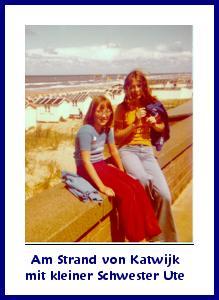 Am Strand von Katwijk