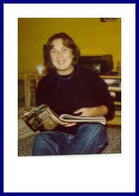 Sabine im Herbst 1980