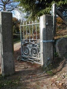 Schmiedeeisernes Tor in Neetze