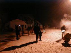 Foto: Beim Silvesterknallen auf der Straße