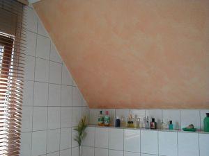 Foto: Badezimmertapete in mediterranem Stil