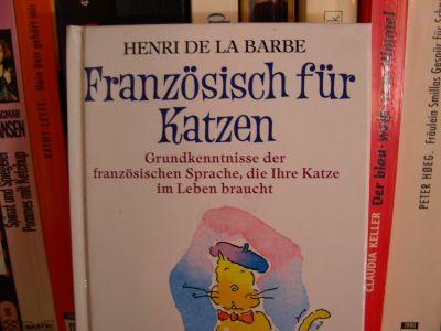 Titelbild des Buches 'Französisch für Katzen'