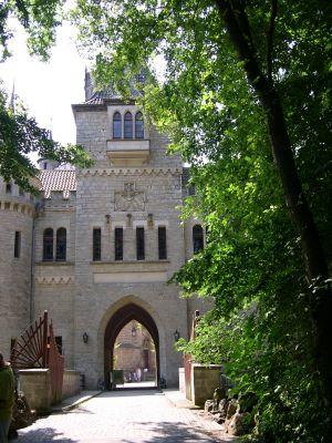 Eingangstor der Marienburg