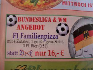 Neues Angebot des Pizzabringdienstes