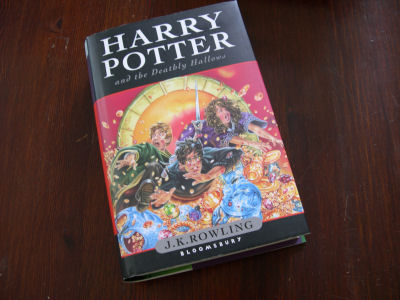 Buch 'Harry Potter an the Deathly Hallows'