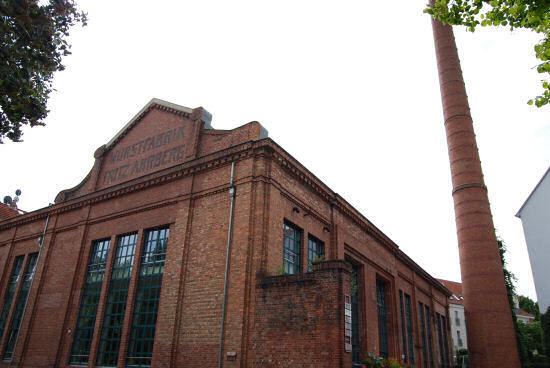 Backsteingebäude der ehemaligen Wurstfabrik