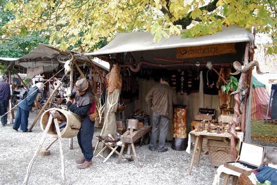 mittelalterliche Handwerkerstände