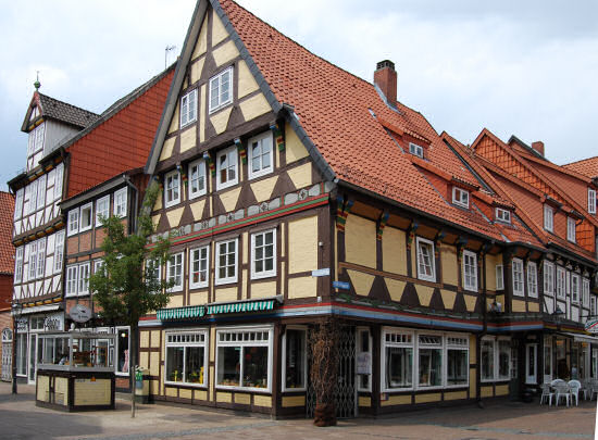 Altstadthäuser in Celle