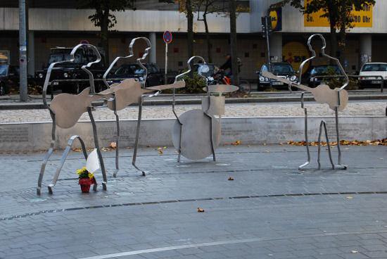 Statuen der Beatles