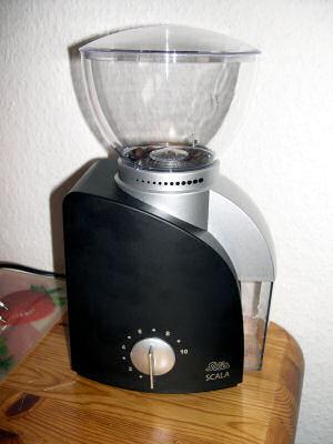 Kaffeemühle Scala von Solis